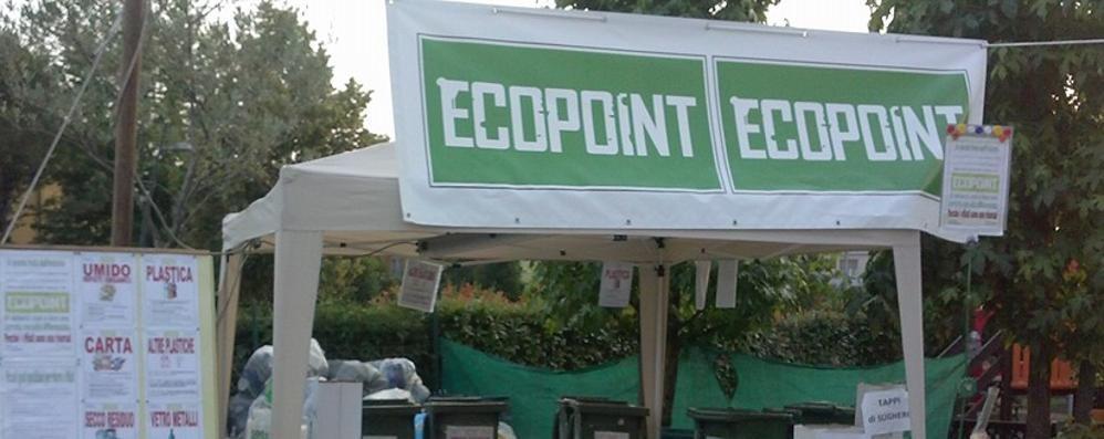 Festa dei 5 Stelle con l'Ecopoint Rifiuti zero e differenziata da record