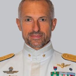 Luca Conti è Contrammiraglio  Da Lovere ai vertici della Marina