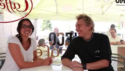 Peghera, lo chef Andrea Mainardi  Dalla «Prova del Cuoco» a L'Eco café