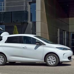 Renault Zoe, l'elettrica anche a uso commerciale