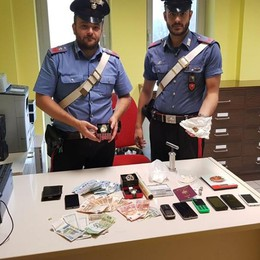 Treviglio, fermati due «pusher» ventenni Sequestrata cocaina e un'auto rubata