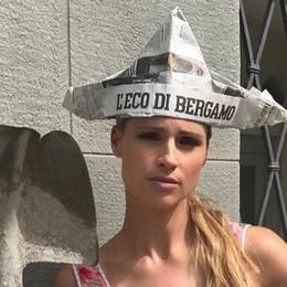 Bergamo ha la magütt Michelle Hunziker  «L'Eco»  in testa, e c'è pure un video