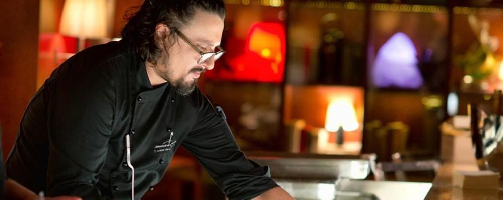 Borghese, chef rock e social «Conquistato da Bergamo»