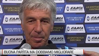 Gasperini dopo Atalanta-Lille:   «Bene, ma dobbiamo migliorare»