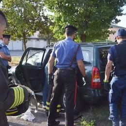 Hashish e cocaina a Zingonia Carabinieri in azione,arresti -Foto e video