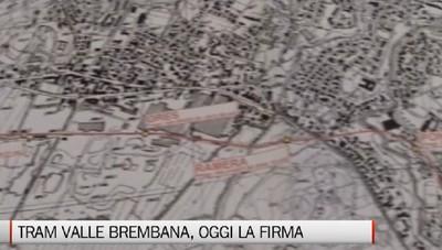 Tram Bergamo-Villa d'Almé, c'è la firma  Un'opera da 145 milioni di euro