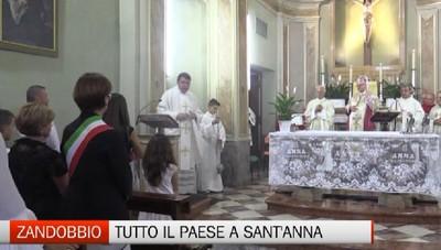 Zandobbio - Tutto il paese alla festa di Sant'Anna