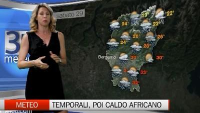 Meteo - Temporali, poi il caldo africano