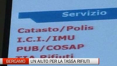 Bergamo, un aiuto per pagare la Tari
