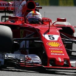 Ferrari davanti a tutti a Budapest Prova di forza, Vettel in pole