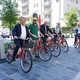 Inaugurata una nuova stazione BiGi Biciclette disponibili in via Mazzini
