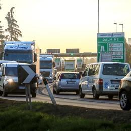 Lavori in autostrada a Dalmine Venerdì notte chiusa l'uscita