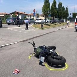 Scontro tra auto e moto a Pognano Un 34enne in gravi condizioni