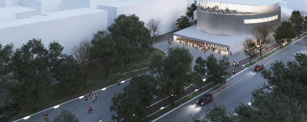 La nuova Gamec al palazzetto Museo con vista su Città Alta - Video