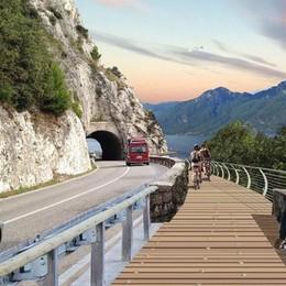 Spettacolare anello da 140 km sul lago Primi fondi per la «Ciclovia del Garda»
