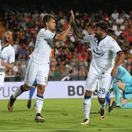 Toloi e Palomino, l'Atalanta si impone A Valencia finisce 2-1 - Le foto