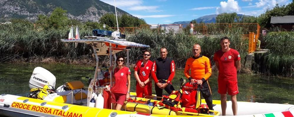 Lago d'Iseo ora più sicuro 118 e pompieri insieme sul Sebino