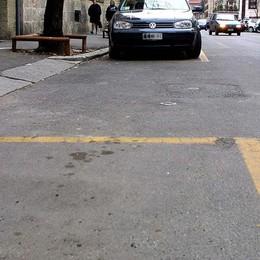 Sosta a pagamento sulle strisce gialle Il 30% dei residenti rinuncia al pass
