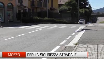 Mozzo, 500mila euro per la sicurezza stradale