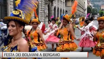 Comunità boliviana in festa per la Madonna di Urcupina