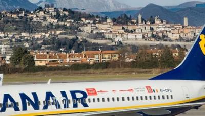 Più voli in coincidenza con Ryanair Altre 25 rotte a Orio al Serio