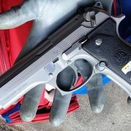 La pistola fu rubata a Brembate Sopra Il colpo in un'abitazione, 5 arresti