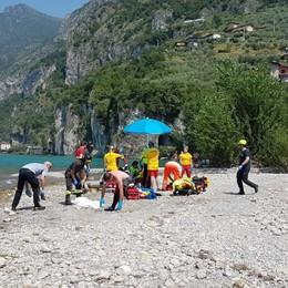 Due ragazzi annegati nel lago d'Iseo Indagini sul fondale dove sono morti