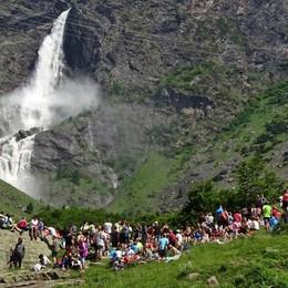 Lo spettacolo delle cascate del Serio Le migliori postazioni  per osservarle