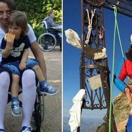 «Con la tenacia ho battuto la paralisi» Storia di Giorgio che ora fa volontariato
