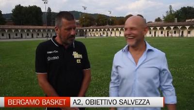 Bergamo Basket, gli obiettivi di coach Ciocca