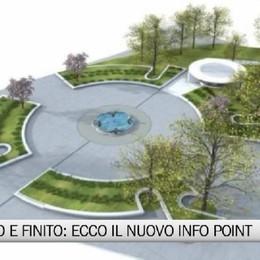 È pronto l'«ufo» della stazione  Punto informazioni, apre a settembre