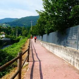 La pista ciclabile della Valle Cavallina  Molti pregi e qualche difetto