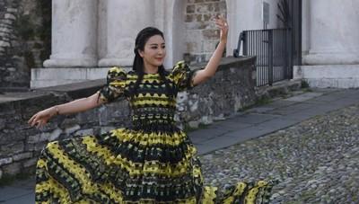 Nel videoclip della star cinese c'è pure Zingonia (con il Colosseo)