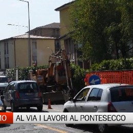 Viabilità - Al via i lavori al nodo di Pontesecco