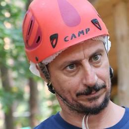 Clusone, Luca Bizzarri al Parco Avventura Un nuovo progetto televisivo in valle?