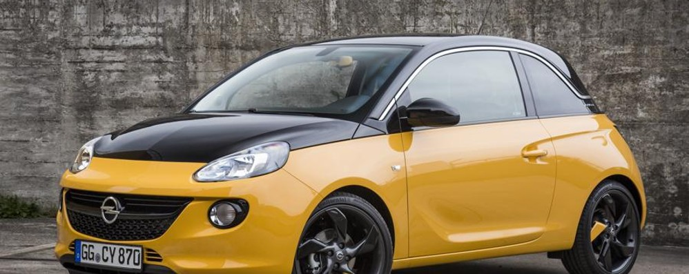 Opel Adam Black Jack La «piccola» lifestyle