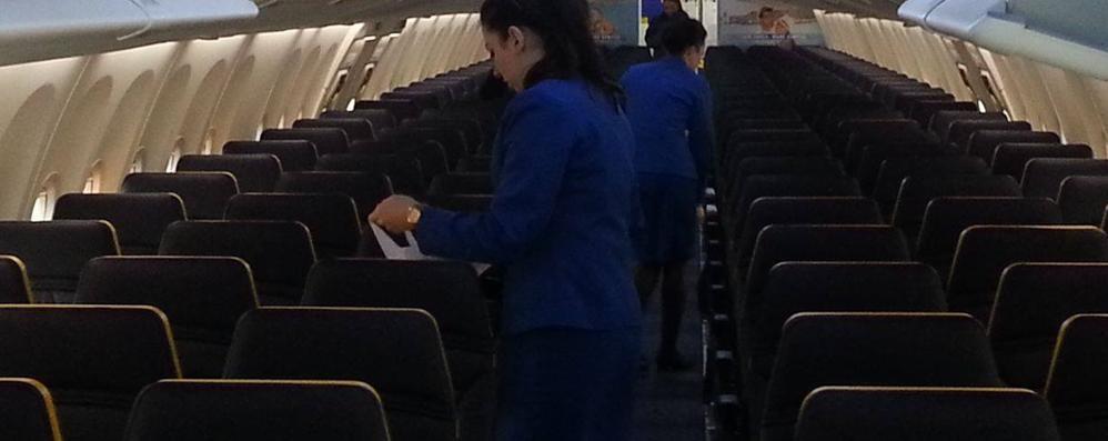 La comoda promessa di Ryanair «Viaggerete più larghi» (dal 2019)