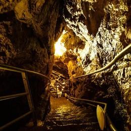 Riaprono le «Grotte del Sogno» Da San Pellegrino giù verso l'abisso