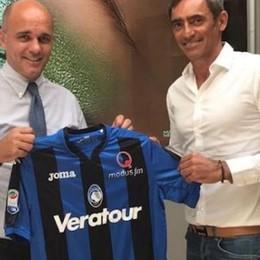 Atalanta sponsorizzata Veratour (Ma solo per il girone d'andata)