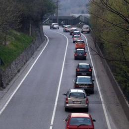Traffico verso le montagne Code in Val Brembana e Seriana