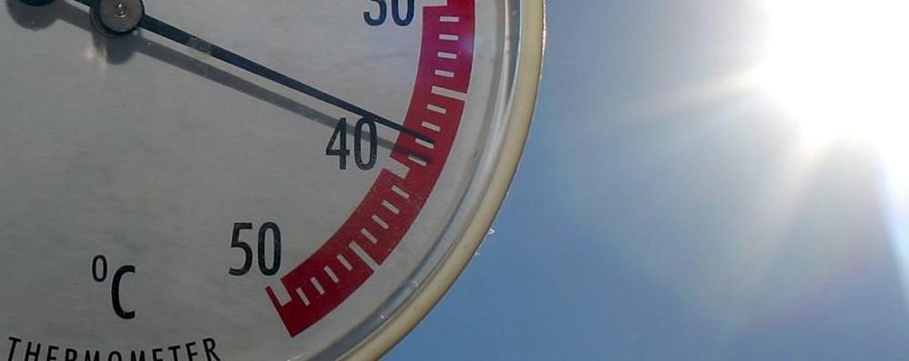 Domenica arrivano i temporali Temperature giù anche di 10 gradi