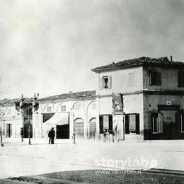 Il grande prato e la  Fiera mercato Poi cambiò tutto:  un «salotto» in città