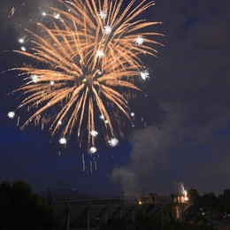 Borgo Santa Caterina in festa Il 17 agosto i fuochi d'artificio