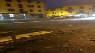 Grandinata a San Giovanni Bianco
