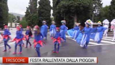 Trescore, la pioggia frena la Festa dell'Uva