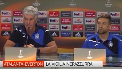 Atalanta-Everton, le parole di Gasperini e Gomez da Reggio Emilia