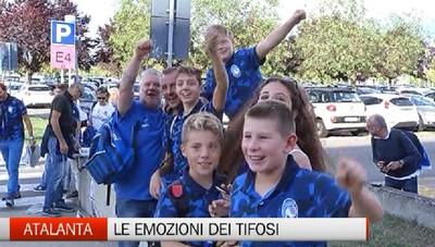 Atalanta-Everton 3-0, la giornata dei tifosi