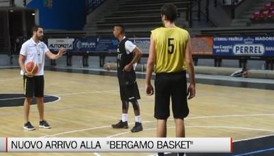 Sport - Nuovo arrivo alla Bergamo Basket