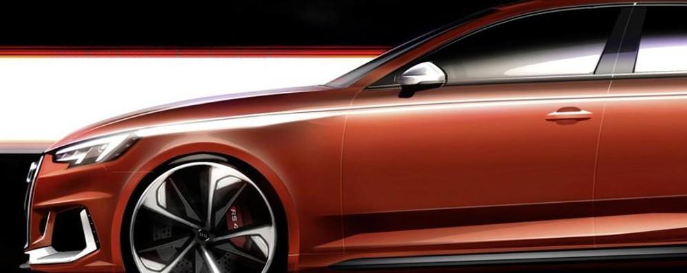 Al Salone di Francoforte brilla  la sportivissima Audi RS 4 Avant