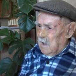 A 111 anni muore il nonno d'Italia  «Il mio segreto? Cibo sano e Cannonau»
